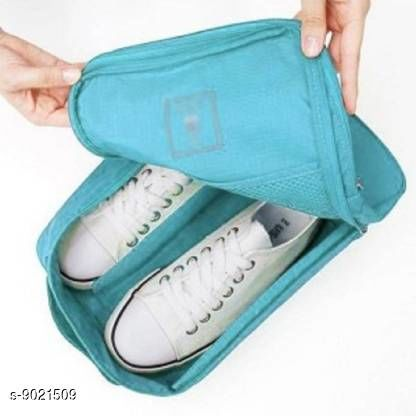 Shoe Storage Shoe Pouch  *Material* Polyester  *Pack* Pack of 1  *Sizes Available* Free Size *    Catalog Name: Classic Shoe Bags CatalogID_1558116 C131-SC1627 Code: 844-9021509-