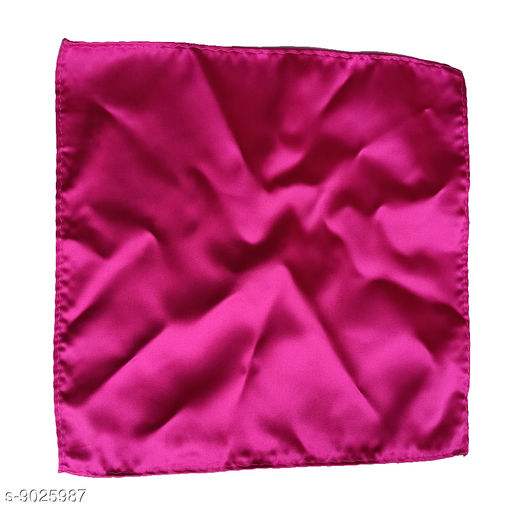 Pocket Squares Classy Pocket Mirrors  *Material* Synthetic  *Pattern* Solid  *Type* Stitched  *Multipak* Single  *Size* Free Size  *Sizes Available* Free Size *    Catalog Name: Classy Pocket Mirrors CatalogID_1542742 C65-SC1225 Code: 952-9025987-