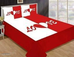 Comfy Beautiful 105 X 95 Double King Bedsheet