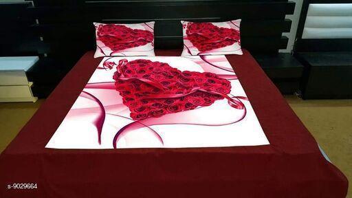 Trendy Velvet double bedsheet