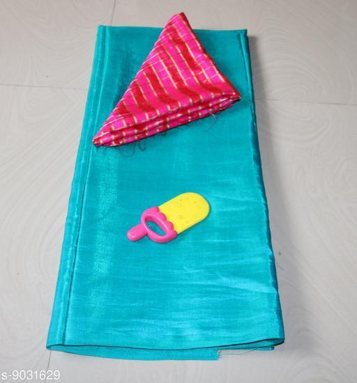 Sarees Sana Plan Saree  Blouse Best Quality Saree    *Saree Fabric* Sana Silk  *Blouse* Saree with Multiple Blouse  *Blouse Fabric* Jacquard  *Pattern* Self-Design  *Blouse Pattern* Woven Design  *Multipack* Single  *Sizes*   *Free Size (Saree Length Size* 5.4 m, Blouse Length Size  *Sizes Available* Free Size *    Catalog Name: Aagyeyi Petite Sarees CatalogID_1560542 C74-SC1004 Code: 663-9031629-