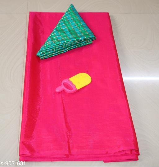 Sarees Sana Plan Saree  Blouse Best Quality Saree    *Saree Fabric* Sana Silk  *Blouse* Saree with Multiple Blouse  *Blouse Fabric* Jacquard  *Pattern* Self-Design  *Blouse Pattern* Woven Design  *Multipack* Single  *Sizes*   *Free Size (Saree Length Size* 5.4 m, Blouse Length Size  *Sizes Available* Free Size *    Catalog Name: Aagyeyi Petite Sarees CatalogID_1560542 C74-SC1004 Code: 663-9031631-
