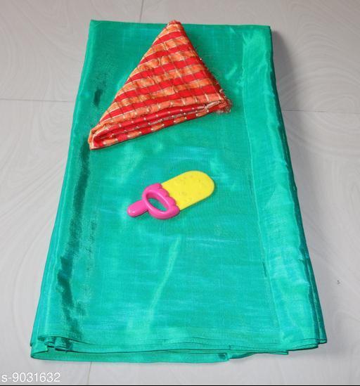 Sarees Sana Plan Saree  Blouse Best Quality Saree    *Saree Fabric* Sana Silk  *Blouse* Saree with Multiple Blouse  *Blouse Fabric* Jacquard  *Pattern* Self-Design  *Blouse Pattern* Woven Design  *Multipack* Single  *Sizes*   *Free Size (Saree Length Size* 5.4 m, Blouse Length Size  *Sizes Available* Free Size *    Catalog Name: Aagyeyi Petite Sarees CatalogID_1560542 C74-SC1004 Code: 663-9031632-