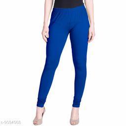 Cotton Lycra Legging For Women / Girls Legging - Blue