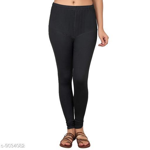 Cotton Lycra Legging For Women / Girls Legging - Black