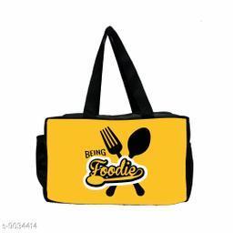 Being Foodie Print Lunch Bag