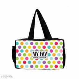 Polka Dot Multcolor Waterproof Lunch Bag