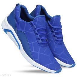 Stylish Men's Blue Sports Shoes