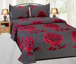 Trendy Cotton 90 X 90  Bedsheet