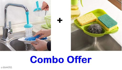 Combo Of Sink Corner and Sink Tap 1Pcs Set