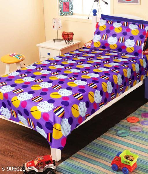 Attractive Designed Royal Cotton Single Bedsheet