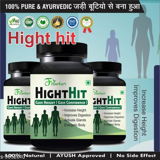 Other Health Appliances Health Wellness   *Product Name* Health Wellness  *Product Type* Ayurveda & Herbs Capsules  *Capacity* 180  *Miltipack* 1  *Sizes Available* Free Size *    Catalog Name:  Ayurveda & Herbs CatalogID_1565238 C125-SC1526 Code: 9891-9052010-