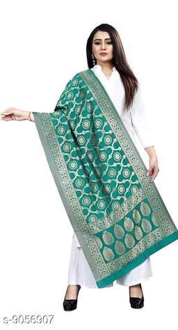 Banarasi silk woven design dupattas