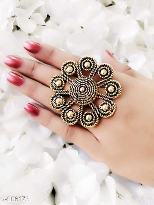 Fancy Oxidized Ring