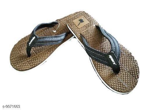 Flip Flops Latest Attractive slippers  *Material* PU  *Sizes*  IND-6  *Sizes Available* IND-6 *    Catalog Name: Unique Graceful Men Flip Flops CatalogID_1570060 C67-SC1239 Code: 624-9071663-