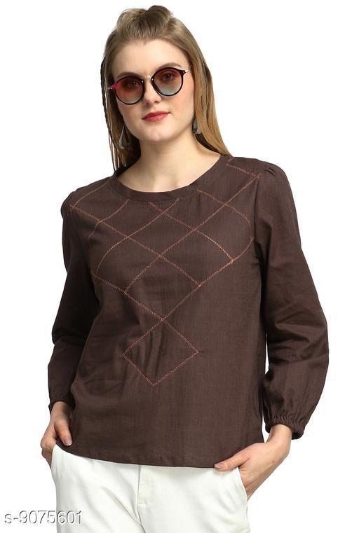 Tops & Tunics Women Western Wear - Western Bottomwear - Leggings  *Fabric* Cotton  *Pattern* Solid  *Multipack* Single  *Sizes*   *S (Bust Size* 36 in)  *M (Bust Size* 38 in)  *L (Bust Size* 40 in)  *XL (Bust Size* 42 in)  *Sizes Available* S, M, L, XL *    Catalog Name: Pretty Sensational Women Tops & Tunics CatalogID_1571012 C79-SC1020 Code: 094-9075601-