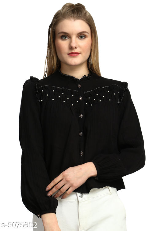 Tops & Tunics Women Western Wear - Western Bottomwear - Leggings  *Fabric* Cotton  *Pattern* Solid  *Multipack* Single  *Sizes*   *S (Bust Size* 36 in)  *M (Bust Size* 38 in)  *L (Bust Size* 40 in)  *XL (Bust Size* 42 in)  *Sizes Available* S, M, L, XL *    Catalog Name: Pretty Sensational Women Tops & Tunics CatalogID_1571012 C79-SC1020 Code: 094-9075602-