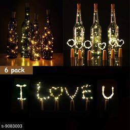 6 pcs cork light