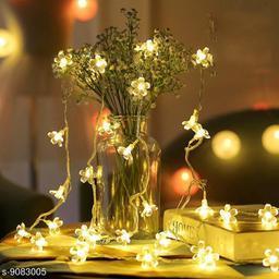 20 flower warm white light