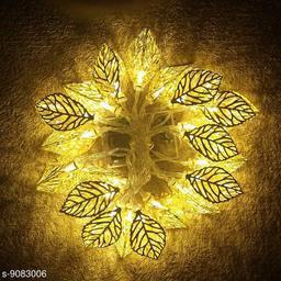 metal leaf light