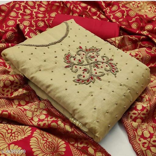 Raima Modal Chanderi Dress Material