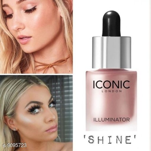 Natural Iconic london illuminator liquid highlighter face and body waterproof 3D glow bridal makeup Highlighter(Shine)