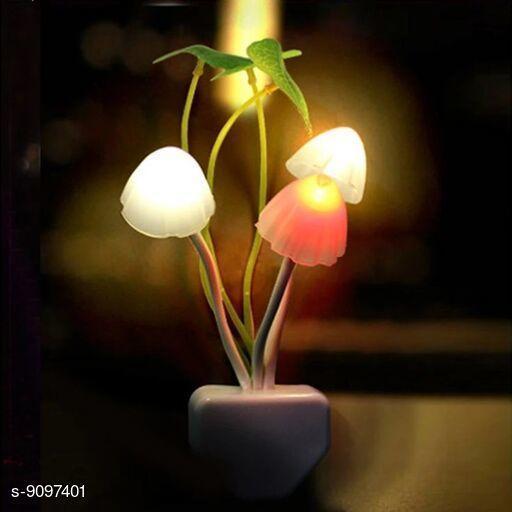 Colour Changing Mushroom Shape LED Night Light Lamp