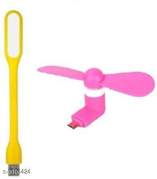 Trendy Plastic USB Fans