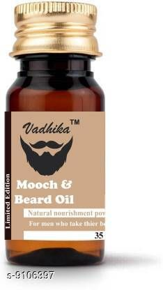 Men's Grooming  *Product Name* Beardo Hair Growth Oil  *Product Name* Beardo Hair Growth Oil  *Brand* Beardo  *Type* Beard Oil Vadhika Mooch & Beard Oil 4x4 (35 ml) Hair Oil (35 ml) Hair Oil (35 ml)  *Multipack * Pack of 1  * Dispatch* 2-3 Days  *Sizes Available* Free Size *    Catalog Name:  Beardo Hair Growth Oil CatalogID_1577947 C51-SC1662 Code: 574-9106397-