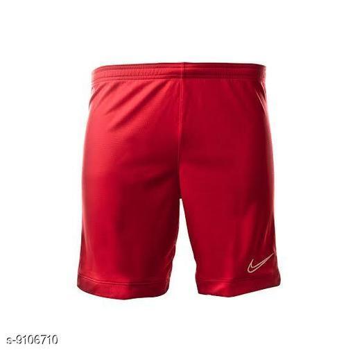 Shorts Boys trendy  Shorts  *Fabric* Nylon  *Sizes*   *30 (Waist Size* 28 in, Length Size  *Sizes Available* 30 *    Catalog Name: Stylish Latest Men Shorts CatalogID_1578065 C69-SC1213 Code: 472-9106710-