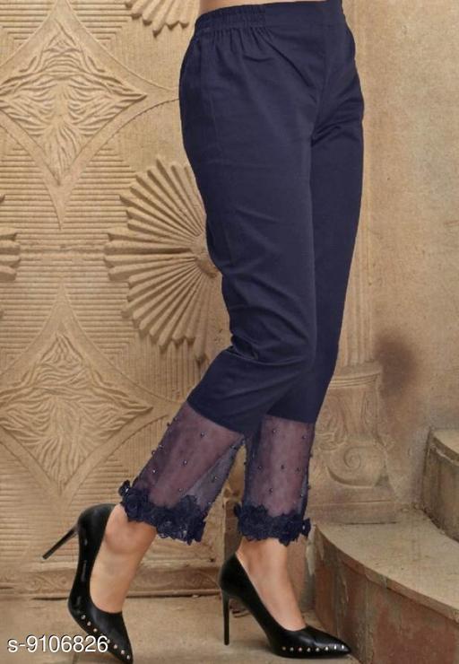 Ethnic Bottomwear - Churidar Pants Pearl Work Designer Cigarette Churidar pants  *Fabric* Pure Jam Satin Cotton  *Pattern* Embellished (Pearl Work)  *Multipack* 1  *Sizes*   *42 (Waist Size* 42 in, Length Size  *Sizes Available* 42 *   Catalog Rating: ★3.8 (15)  Catalog Name: Flouncy Women Churidar Pants CatalogID_1578092 C74-SC1016 Code: 834-9106826-