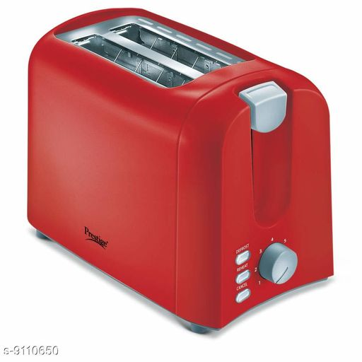 Sandwich Maker 700-Watt Pop-Up Toaster - PPTPR (Red) - Prestige  *Sizes*  Free Size  *Sizes Available* Free Size *    Catalog Name: Essential Toasters CatalogID_1579000 C104-SC1490 Code: 1561-9110650-5971
