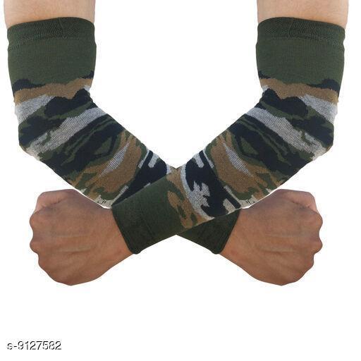 Unisex Cotton Camouflage Arm Sleeves