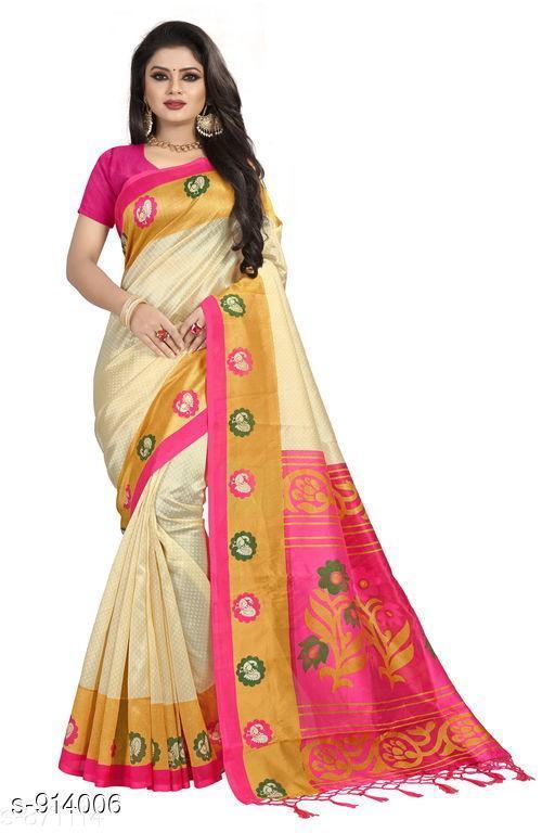 Elegant Printed Women's Saree