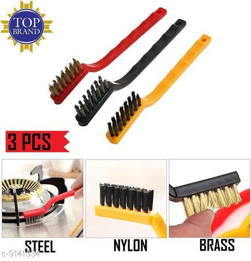 Wire Brush Set (3 Pcs Set)