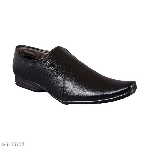 Formal Shoes Black Sythentic Shoes For Men Material: Syntethic Leather Sole Material: PVC Fastening & Back Detail: Slip-On Pattern: Solid Multipack: 1 Sizes:  IND-7 (Foot Length Size: 26 cm)  IND-6 (Foot Length Size: 25 cm)  IND-10 (Foot Length Size: 29 cm)  IND-9 (Foot Length Size: 28 cm)  IND-8 (Foot Length Size: 27 cm) Country of Origin: India Sizes Available: IND-6, IND-7, IND-8, IND-9, IND-10 *Proof of Safe Delivery! Click to know on Safety Standards of Delivery Partners- https://ltl.sh/y_nZrAV3  Catalog Rating: ★4.2 (334)  Catalog Name: Latest Trendy Men Formal Shoes CatalogID_1587856 C67-SC1236 Code: 504-9149104-