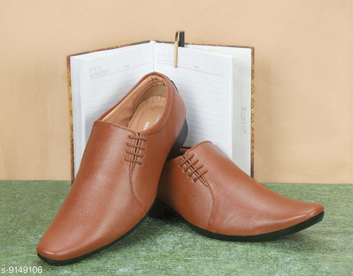 Formal Shoes Tan Sythentic Shoes  For Men Material: Syntethic Leather Sole Material: PVC Fastening & Back Detail: Slip-On Pattern: Solid Multipack: 1 Sizes:  IND-7 (Foot Length Size: 26 cm)  IND-6 (Foot Length Size: 25 cm)  IND-10 (Foot Length Size: 29 cm)  IND-9 (Foot Length Size: 28 cm)  IND-8 (Foot Length Size: 27 cm) Country of Origin: India Sizes Available: IND-6, IND-7, IND-8, IND-9, IND-10 *Proof of Safe Delivery! Click to know on Safety Standards of Delivery Partners- https://ltl.sh/y_nZrAV3  Catalog Rating: ★4.2 (334)  Catalog Name: Latest Trendy Men Formal Shoes CatalogID_1587856 C67-SC1236 Code: 734-9149106-