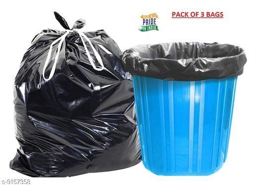 "KP COM Garbage Bag (Medium -19""X22"") - Pack of 3-Each 30 Pieces"