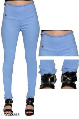trendy womens high waist jeggings