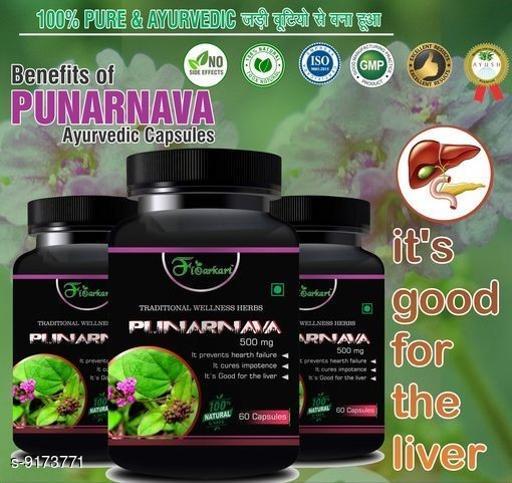Punarnava  capsules for good for diabetes 100% Ayurvedic