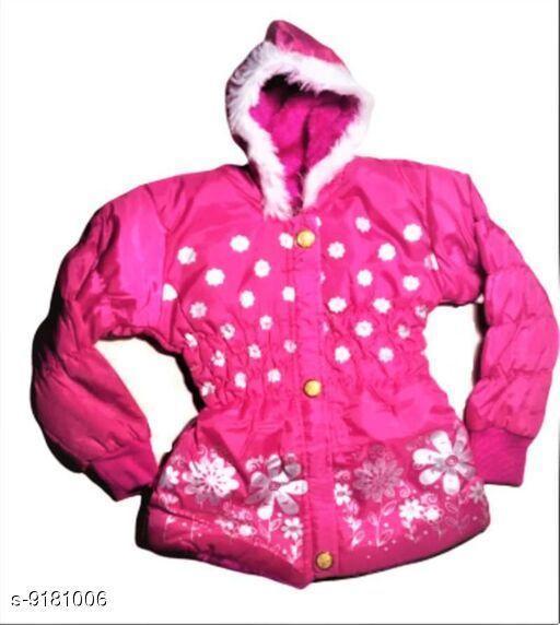 Polyester girl jaket