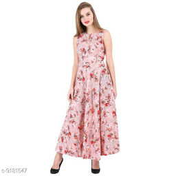 Shree Wow crepe gown