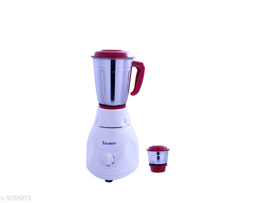 B BluBerry Advanve mixer grinder with two stainless steel jar