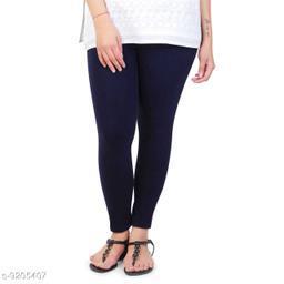 MARS Cotton Lycra Fabric Length Legging For Women & Girl