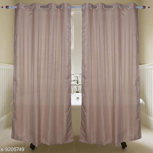 PVC Brown Shower Curtain