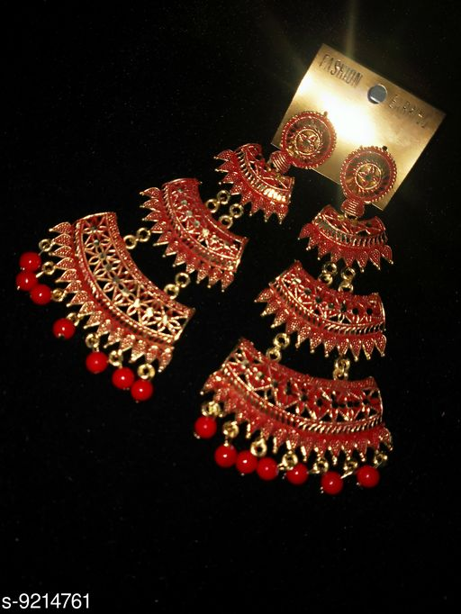 Jewellery Set oxidesed earring  *Base Metal* Lac  *Sizes Available* Free Size *    Catalog Name: Designer Women Jewellery Accessories CatalogID_1603086 C77-SC1093 Code: 142-9214761-