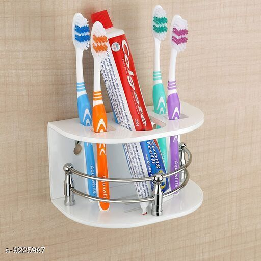 Toothbrush Holders Attractive Toothbrush holder  *Pack* Pack of 1  *Sizes Available* Free Size *    Catalog Name: g CatalogID_1605802 C132-SC1583 Code: 123-9225987-