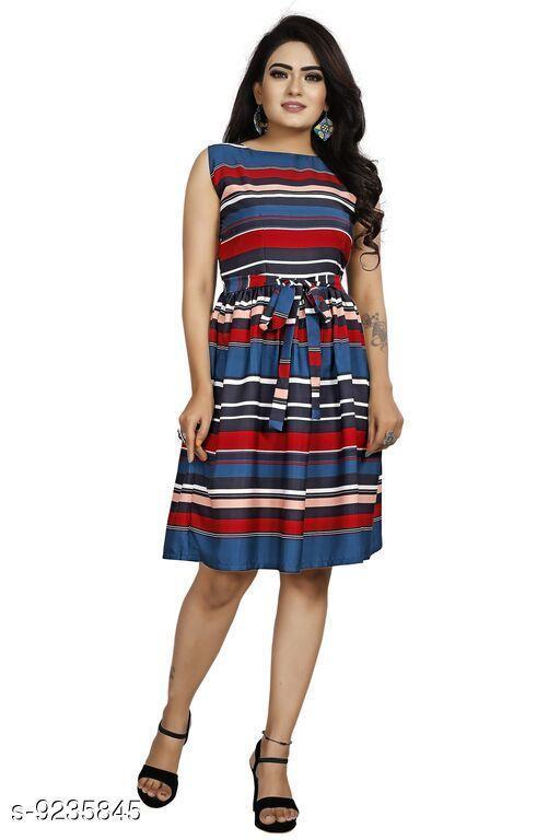 Stylish American Crepe Dresses For Women