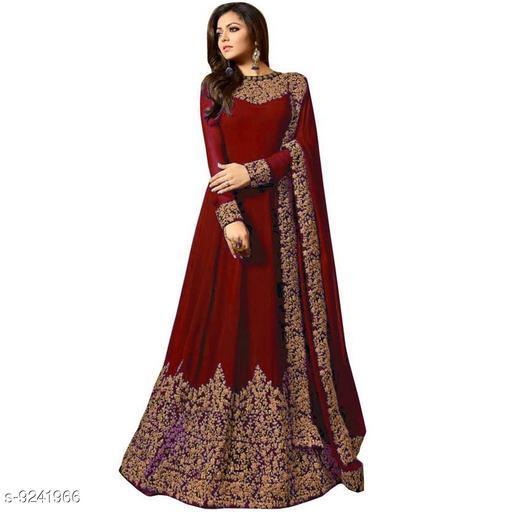 Women's Designer georgette Dress Material With Dupatta