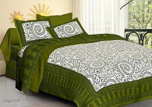 Stylish Sanganeri Print Bedsheets